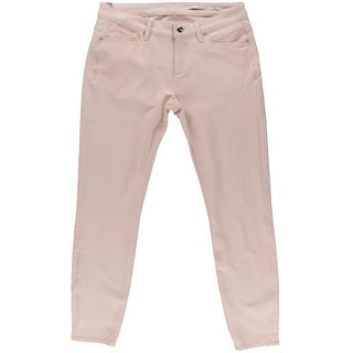 Zara Womens Slim Fit Mid-Rise Colored Skinny Jeans - L