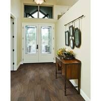 "Mohawk Industries 16358 Brown Magnolia Porcelain Floor Tile - 9"" X 36"" (13.08 SF / Carton) - brown magnolia - N/A"