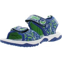 Primigi Boys Beach Sand 6 Surfer Dude Water Friendly Sport Sandals - blue/green surf