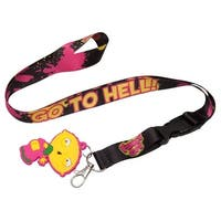 Family Guy Stewie Go To Hell Lanyard - Multi