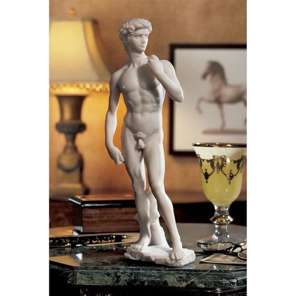 Design Toscano David Bonded Marble Statue: Small