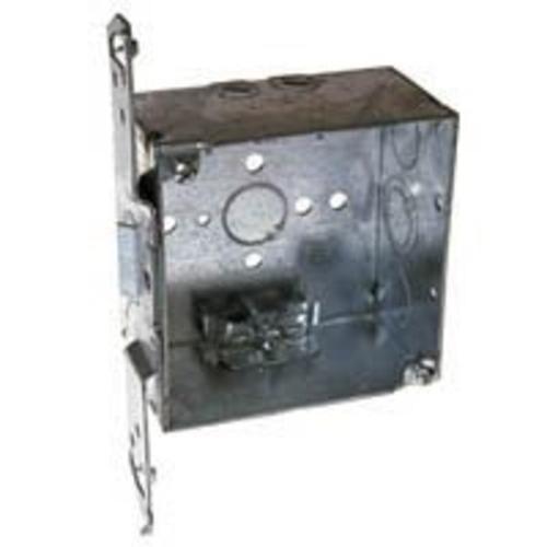 Raco 8240 Steel Switch Box, 4 x 2-1/8
