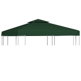 Link to vidaXL Gazebo Canopy Top 10'x10' Green Replacement Cover 2 Tier Outdoor Garden Similar Items in Gazebos & Pergolas
