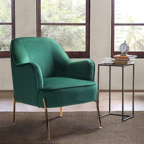 Nora Premium Velvet Upholstered Accent Chair