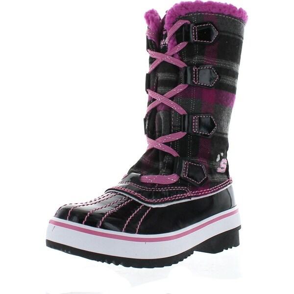 Skechers Kids 88606L Highlanders Safari Glitz Snow Boot