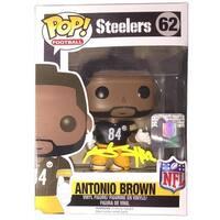 Antonio Brown Signed Pittsburgh Steelers Pop Funko Figure JSA