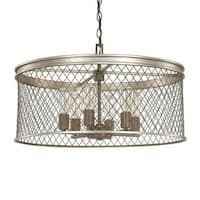 """Donny Osmond Home 4886 6 Light 24.75"""" Wide Pendant from the Eastman Collection"""