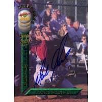 Signed Johnson Mark Mark Johnson 1994 Signature Rookies Baseball Card autographed