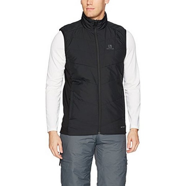 ee6a787ca20 Shop Salomon Mens Drifter Mid Vest M, Black/Forged Iron - XL - Free  Shipping Today - Overstock - 25687976