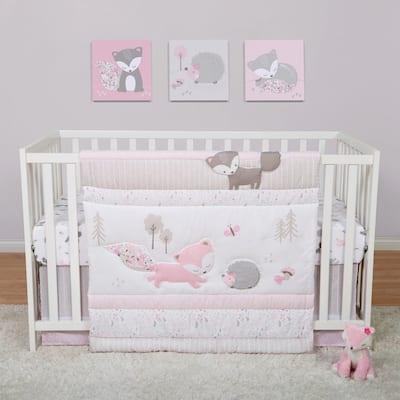Lots of Fox 4 Piece Crib Bedding Set