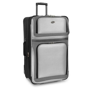 U.S. Traveler US6300G28 New Yorker 29 in. Rolling Luggage, Grey