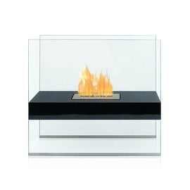 Madison (Black) Bio Ethanol Ventless Fireplace