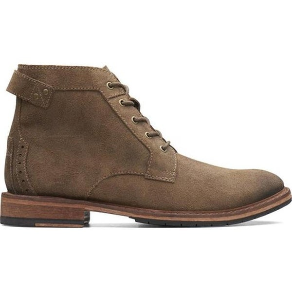 Shop Clarks Men's Clarkdale Bud Ankle Boot Khaki Suede