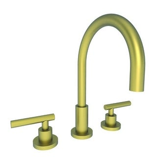 Newport Brass 990L East Linear Double Handle Widespread Lavatory Faucet with Met