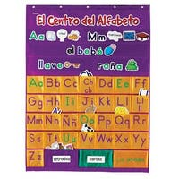 Learning Resources Spanish Alphabet Pocket Chart, 297 Cards