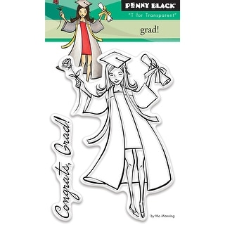 """Penny Black Clear Stamps 3""""X4""""-Grad"""