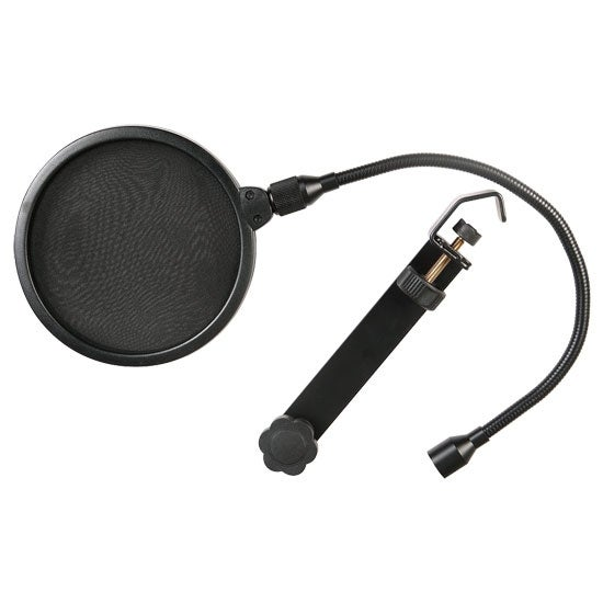 6-Inch Clamp On Microphone Pop Filter