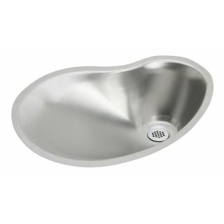 "Elkay MYSTIC211415 The Mystic Stainless Steel Single Basin Undermount Bar Sink with 1-1/2"" Drain Opening"