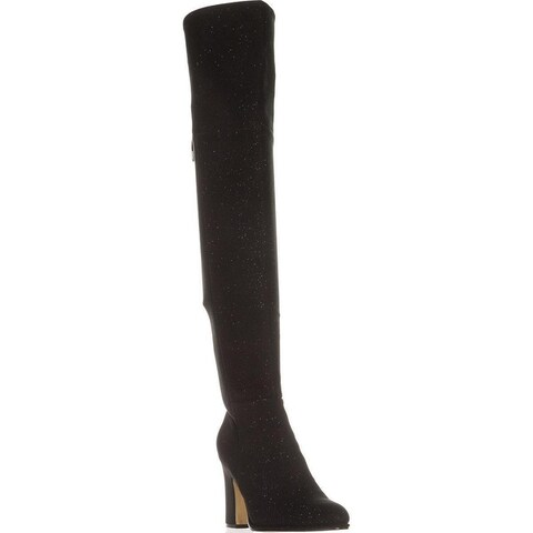 Marc Fisher Womens Neela Closed Toe Knee High Fashion Boots