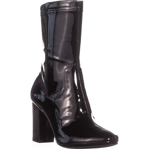 Kenneth Cole New York Alyssa High Rise Ankle Boots, Black
