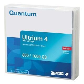 Quantum - Data Cartridge,Lto Ultrium 4 Worm
