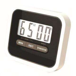 Digital Kitchen Timer Count Down Up Magnetic black