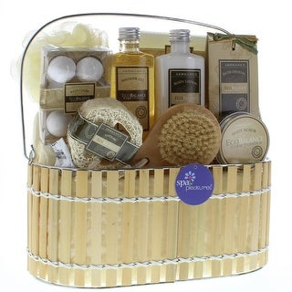 Warm Vanilla Bath Spa Basket