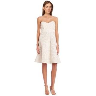 Parker Natasha Petal Applique Sweetheart A-Line Cocktail Dress