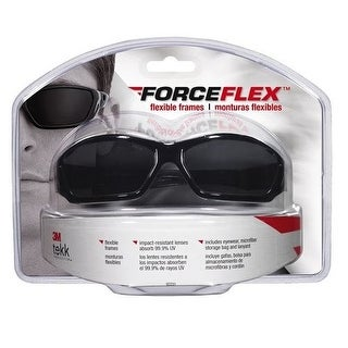 3M 92231-80025 Forceflex Flexible Safety Eyewear