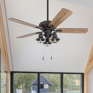 Link to Prominence Home Piercy 42-inch Lantern Light LED Ceiling Fan Similar Items in Ceiling Fans