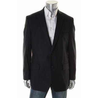 Greg Norman Mens Wool Classic Fit Two-Button Suit Jacket