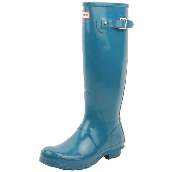 d127004415cb7b Shop Hunter Women s Original Tall Gloss Rain Boot - Free Shipping ...