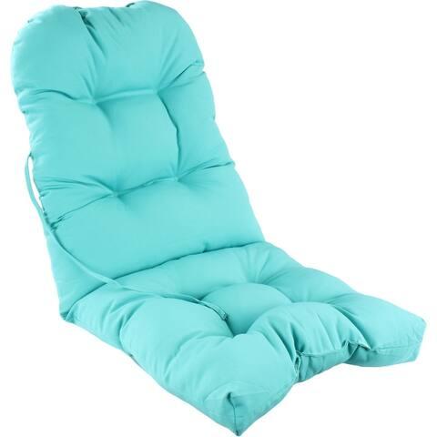 """Indoor / Outdoor Adirondack Cushion Patio Chair Cushion - 49"""" x 20"""" x 3"""""""