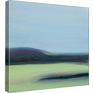 """PTM Images 9-99567  PTM Canvas Collection 12"""" x 12"""" - """"Lunar Blue"""" Giclee Rural Art Print on Canvas"""