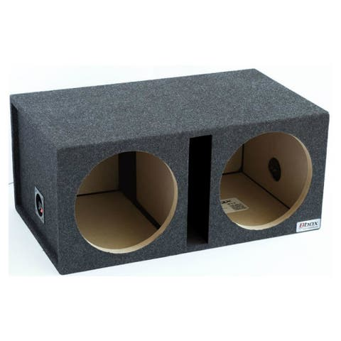 Atrend ATRE12DSVC 12- Inch Shared Vent Subwoofer Enclosure