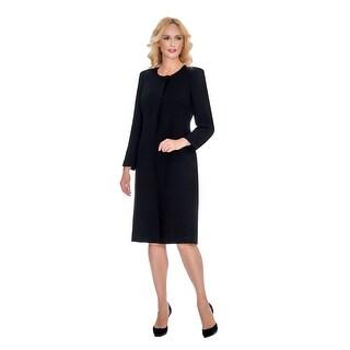 Giovanna Signature Women's 2-piece Washable Coat and Dress Set