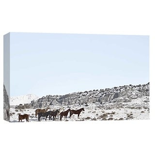 "PTM Images 9-101861  PTM Canvas Collection 8"" x 10"" - ""Horse Fort Ranch 9"" Giclee Horses Art Print on Canvas"