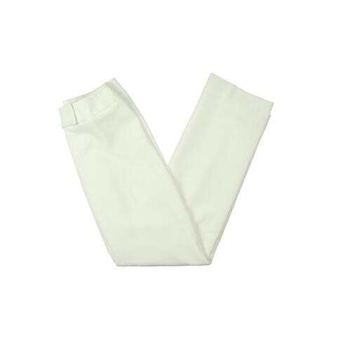 Tahari ASL Womens Petites Dress Pants Crepe Textured