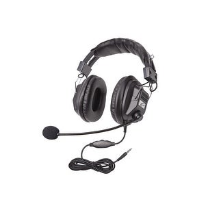 Califone 3068MT Headset With To Go Plug, Black