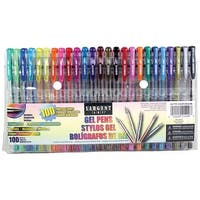 Sargent Art Gel Pen Set 100/Pkg-Assorted