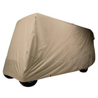 Fairway Golf Cart Quick-Fit Cover Extra Long Roof - Khaki - 40-042-345801-00