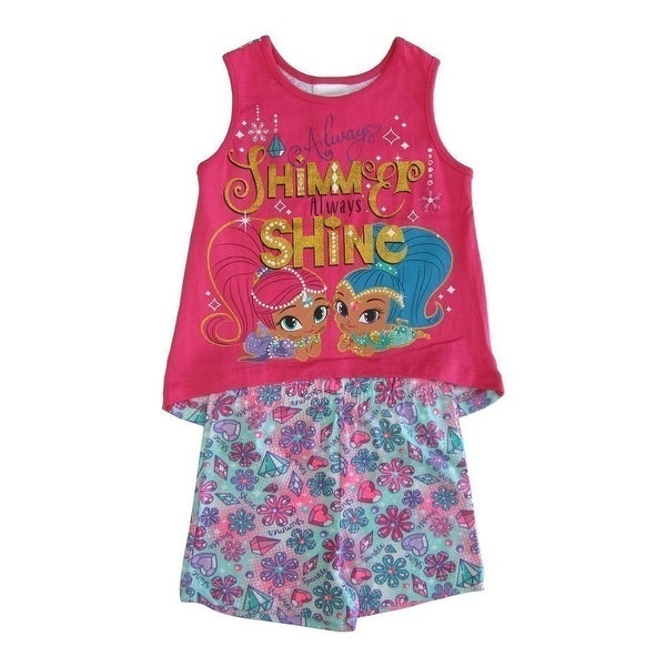 Nickelodeon Shimmer and Shine Girls Infant and Toddler Shorts Clothing Sets
