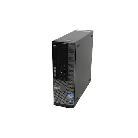 Dell OptiPlex 990 SFF Refurbished PC - Intel Core i5 2400 2nd Gen 3.1 GHz 8GB 2TB HDD DVD-ROM Windows 7 Home Premium 64-Bit