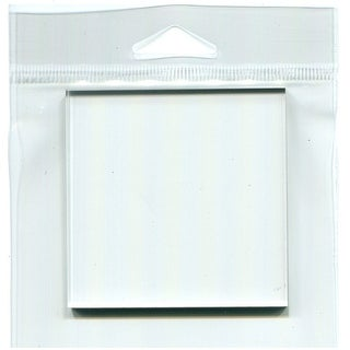 "Joggles Clear Acrylic Stamp Mount 3""X3""-3""X3"""
