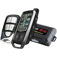 Crimestopper Rs7-G5 Cool Start(Tm) 2-Way Lcd Paging Remote-Start & Keyless-Entry System With Trunk Pop