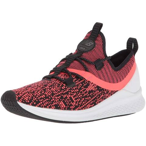 New Balance Womens Lazr Fabric Low Top Lace Up Running Sneaker