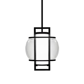 Modern Forms PD-W74615 Lucid 1 Light LED Title 24 Compliant Pendant - 14.75 Inches Tall
