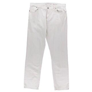 Calvin Klein Jeans Mens Casual Pants Solid Slim Fit - 34/32
