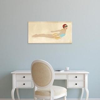 Easy Art Prints June Erica Vess's 'Vintage Diver I' Premium Canvas Art