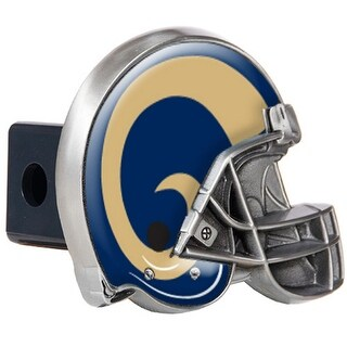 Great American Products St. Louis Rams Helmet Trailer Hitch Cover Helmet Trailer Hitch Cover
